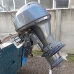LOTE 020 - Barco com motor 40HP Yamaha